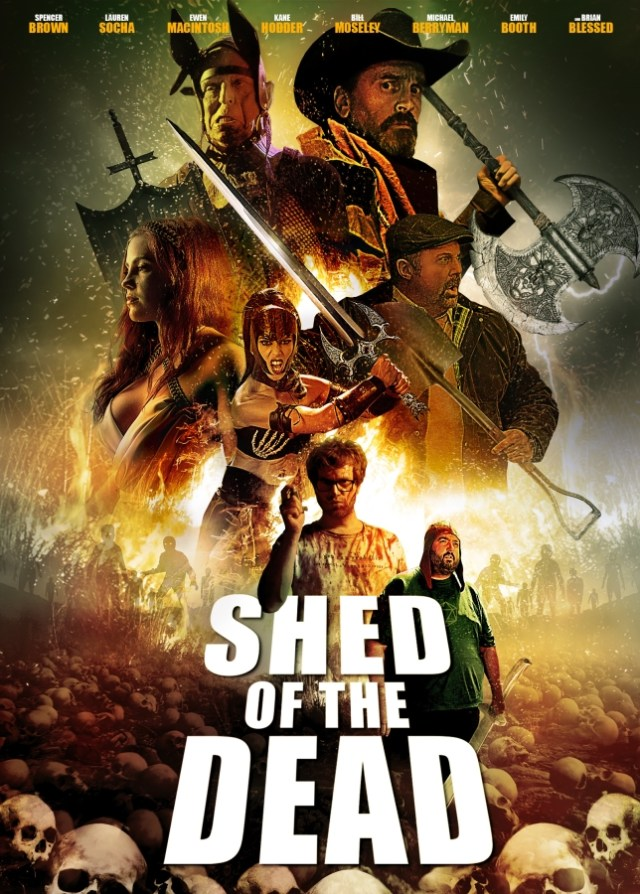 Indican Pictures' Zombie Thriller SHED OF THE DEAD Debuts in Theatres May 17th and DVD/VOD June 6th