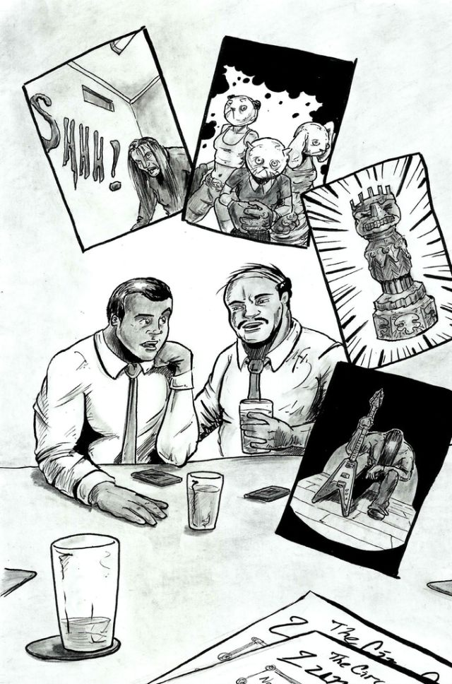 Now on Kickstarter: Heads! Stone Deaf Forever! Sci-Fi Private Detective Comic