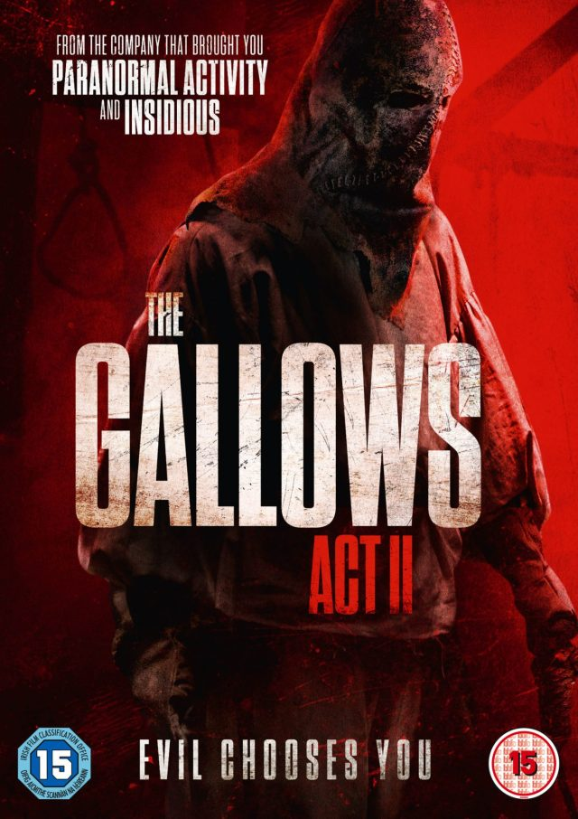 Lionsgate UK Presents Supernatural Horror THE GALLOWS ACT II on DVD 6 January