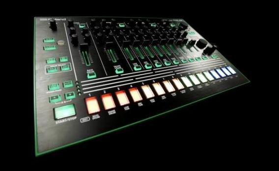 Leaked image purporting to show the new Roland AIRA TR-08