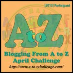 April is A – Z Challenge Month