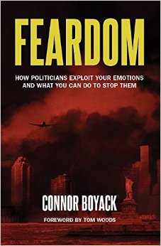 Feardom: How Politicians Exploit Your Emotions and What You Can Do to Stop Them Book Cover
