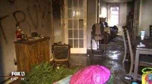 2016.11.29 – FL: Navy Veteran & Trump Support's Home Torched, Ransacked, and Tagged with Anti-Trump Graffiti in Florida