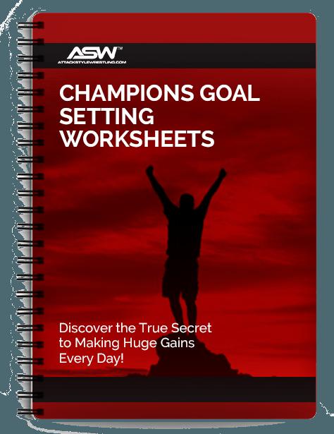 Champions Goal Setting Worksheets
