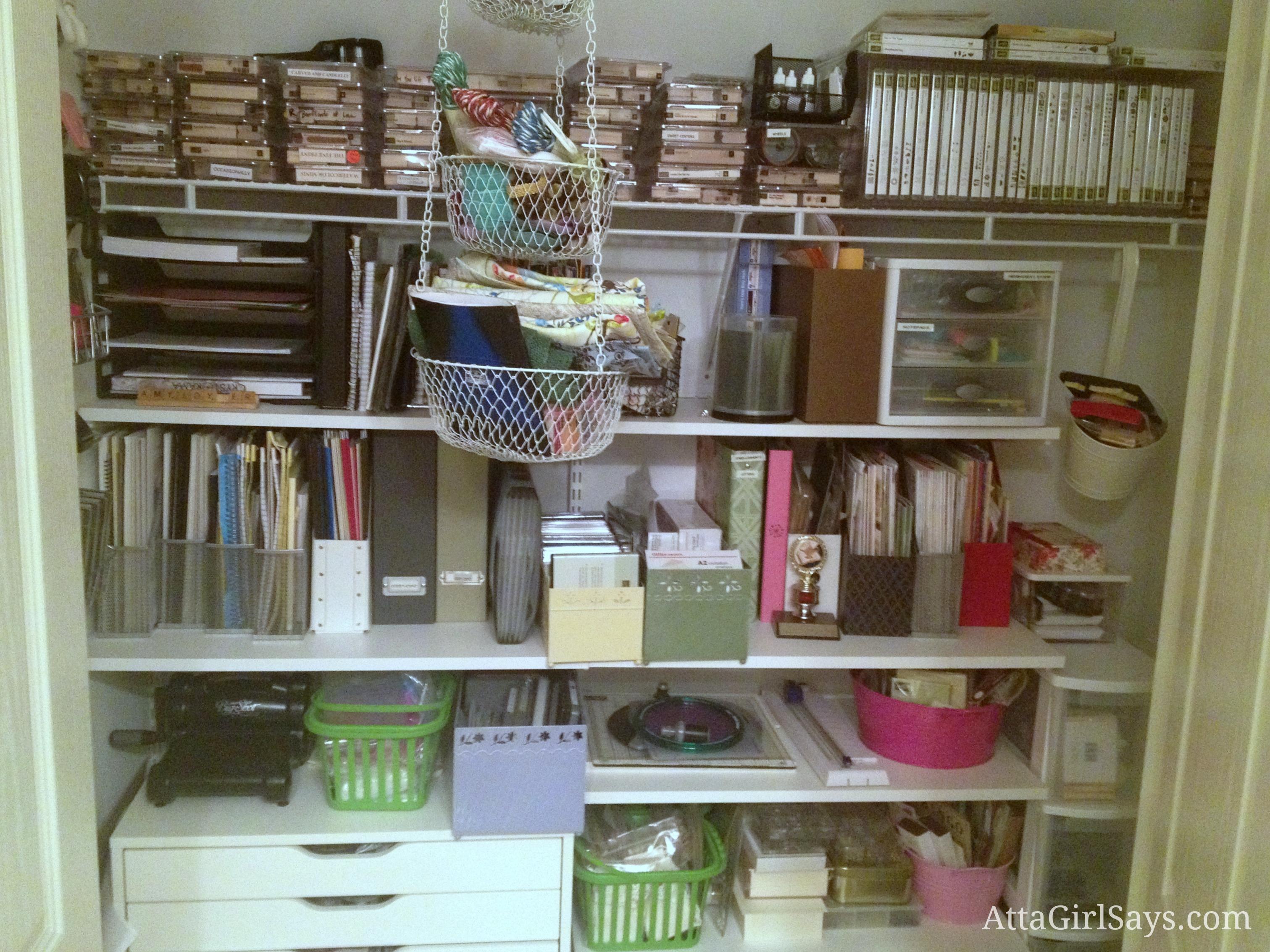 Office Supply Room Organization Ideas