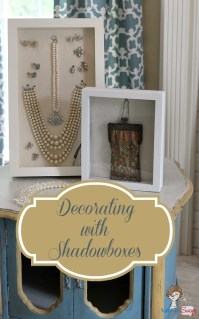 Decorating and Organizing with Shadow Box Frames - Atta ...