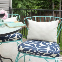 Sewing Patterns For Chair Cushions Ikea Dinning Chairs Porch Makeover Progress Diy Outdoor Atta Girl Says Easy Sew Project