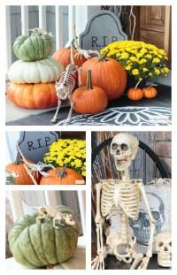 Spooky Halloween Door Decorations - Atta Girl Says