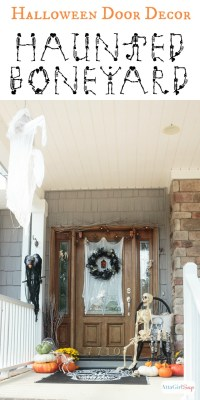 Spooky Halloween Door Decorations - Atta Girl Says