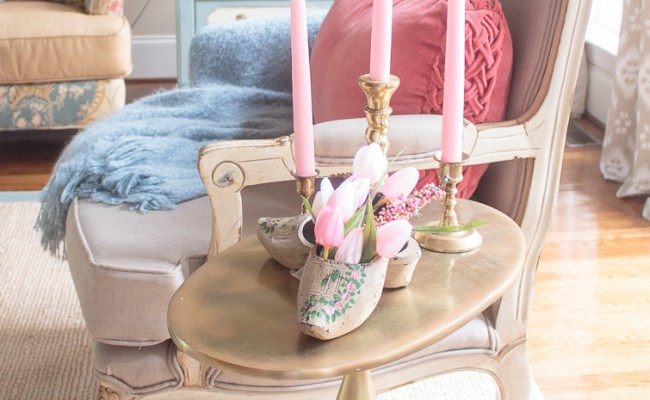 Spring Home Decorating Vintage Seasonal Touches In The