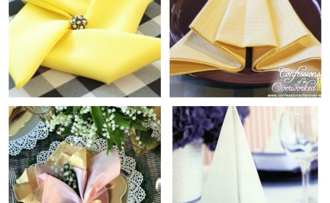 Napkin Folding Ideas For Every Holiday Special Occasion