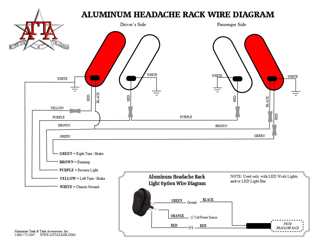 hight resolution of headache rack wire diagram jpg