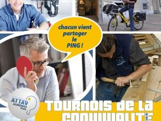 Affiche - Tournoi convivialité 2019 - ATTAV