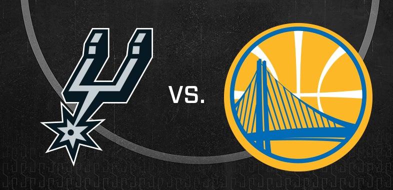 San Antonio Spurs Vs Golden State Warriors ATT Center