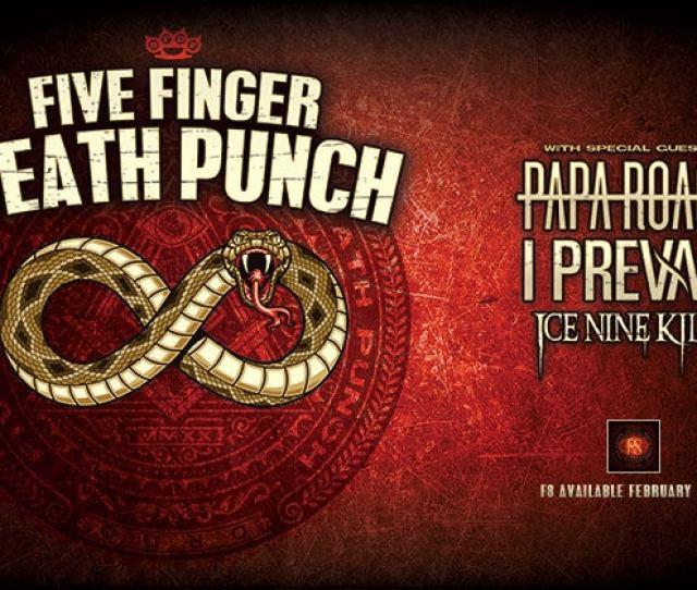 Five Finger Death Punch Att Center