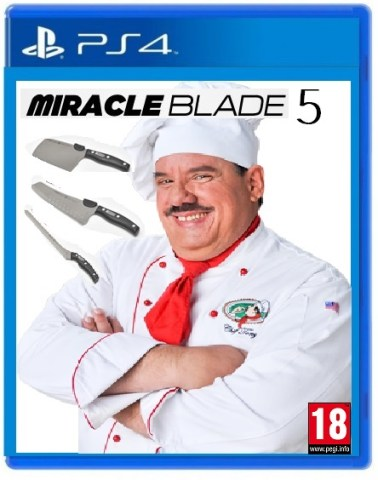 Miracle Blade 5 box art