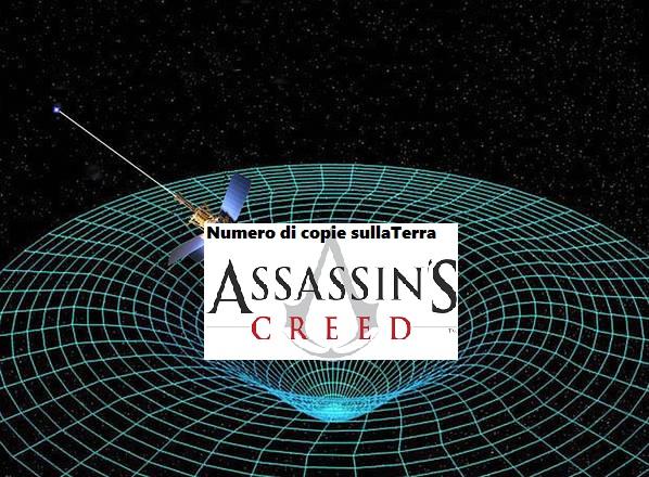 assassin's creed onde gravitazionali
