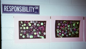 Welcome. Our school year map puts us on a road called Responsibility Drive!