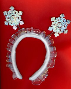 Snowy Queen's tiara cost all of one US dollar. It's value to help struggling students? A million bucks!