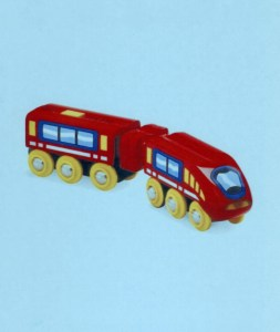 Young children dream of riding tracks as train engineers. Use this interest to help them become learning engineers.