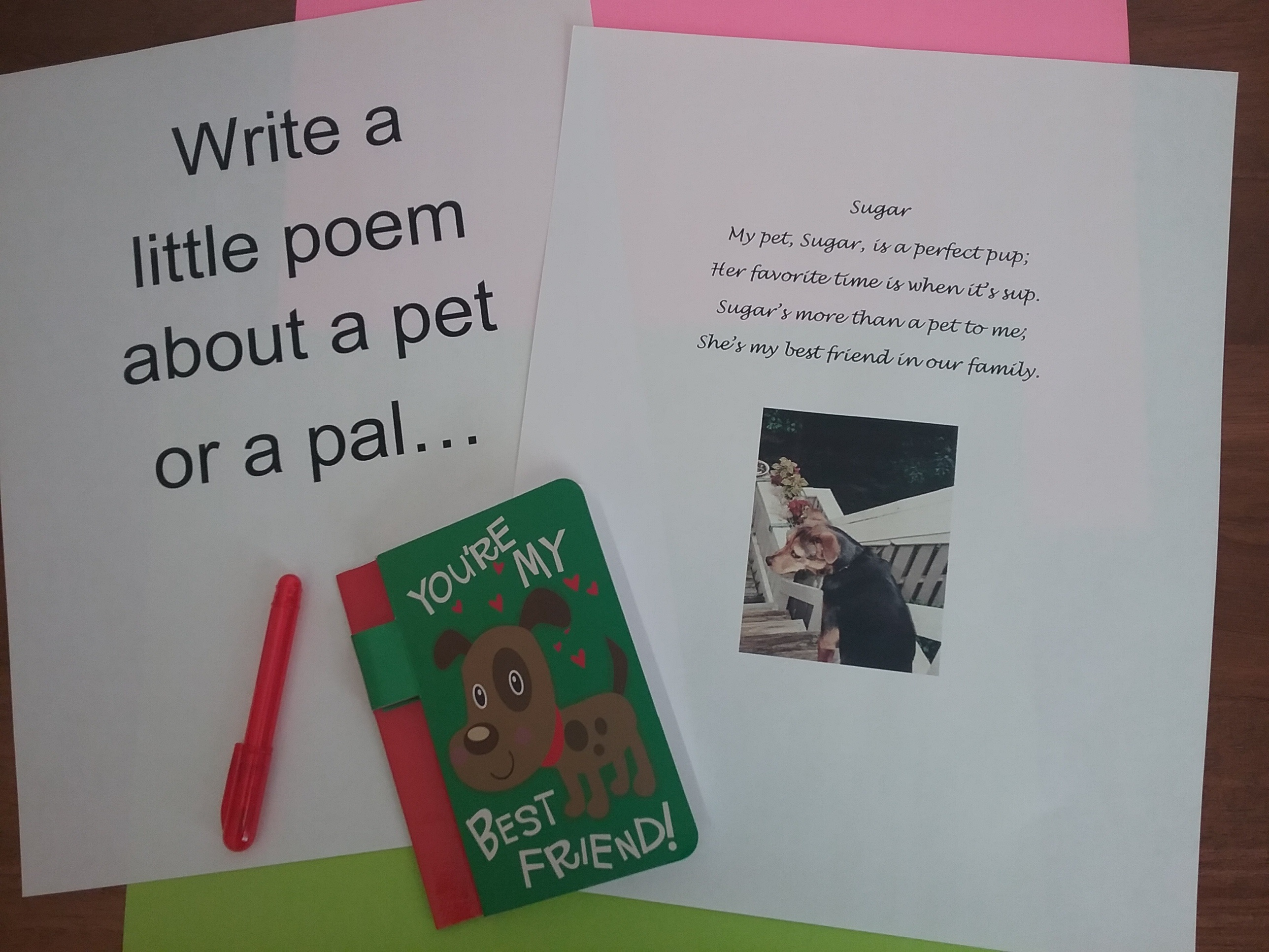 Prompt A Love Of Writing With Valentine Word Play