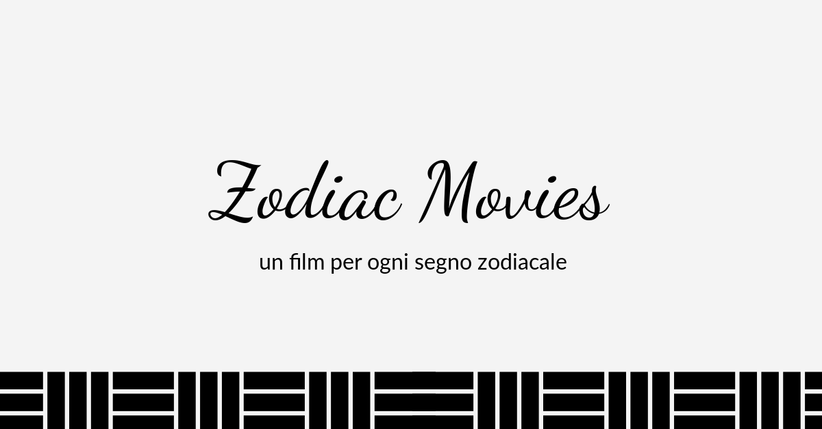 ZODIAC MOVIES: BILANCIA