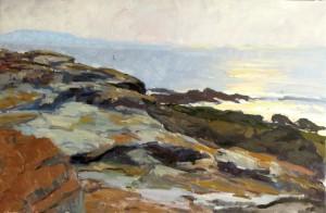 Gray Rocks, Morning