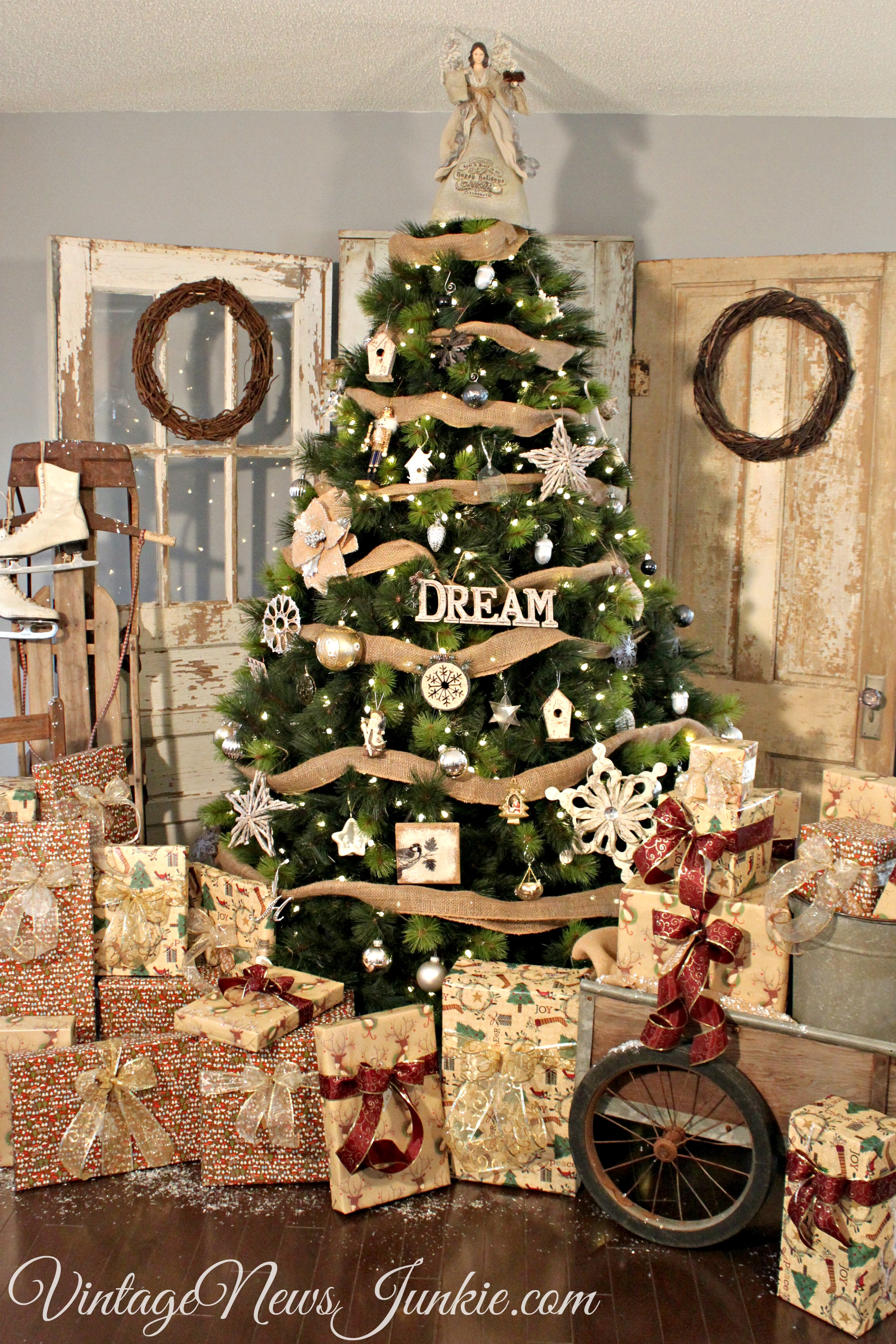 12 Creative Christmas Tree Ideas Amp 1800 Balsam Hill Giveaway At The Picket Fence