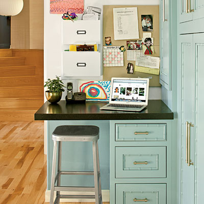 Kitchen Desks Outdated Say It Aint So  At The Picket Fence