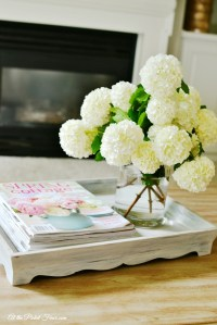 Nesting Trays Makeover - At The Picket Fence