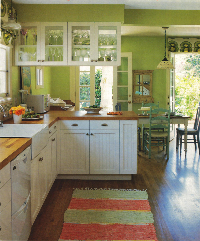 Kiwi Green Kitchen