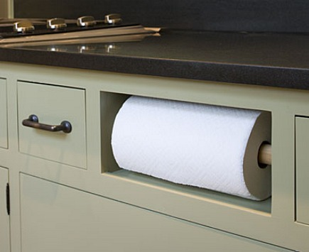 kitchen towel hanger units creative paper holders