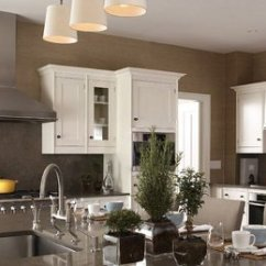 Kitchen Walls Rooster Rug Dark Neutral Range Wall Of With White Cabinets And Taupe Patrik Lonn Via