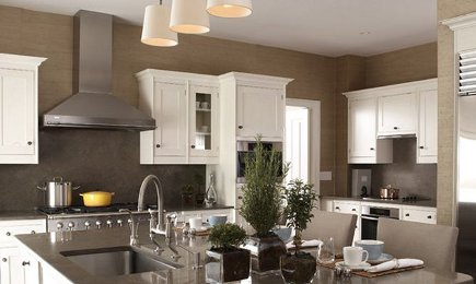 kitchen walls used commercial equipment for sale dark neutral range wall of with white cabinets and taupe patrik lonn via