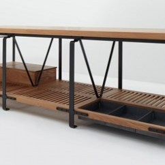Kitchen Work Tables Counter Decorating Ideas Handcrafted By March Sf Via Atticmag