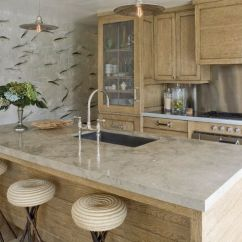 Oak Cabinet Kitchen Work Table Limed Kitchens Cabinets By Jeffrey Alan Marks Via Atticmag