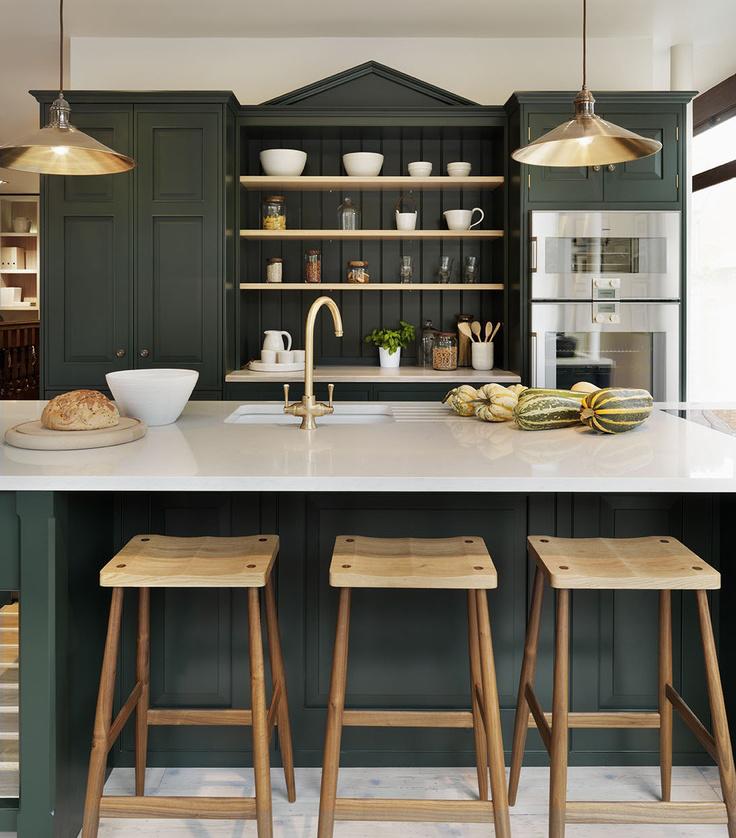 Dark Green Kitchens Atticmag