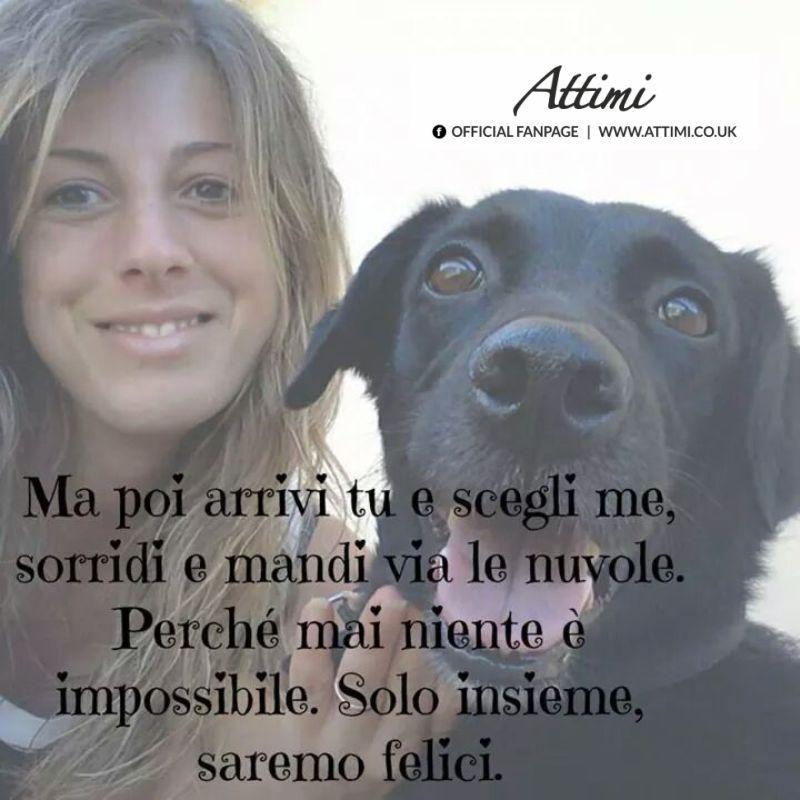 aforismi cani amore