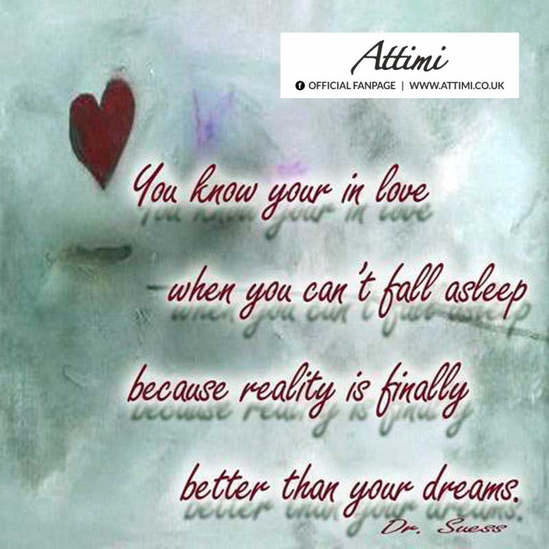 aphorism you love your in love