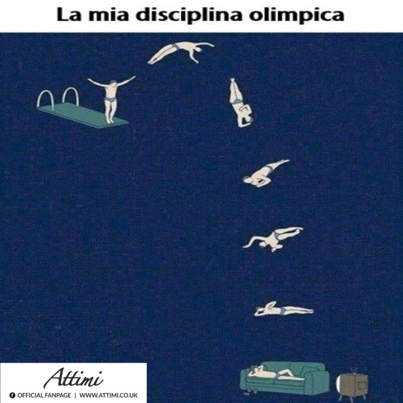 La mia disciplina olimpionica …