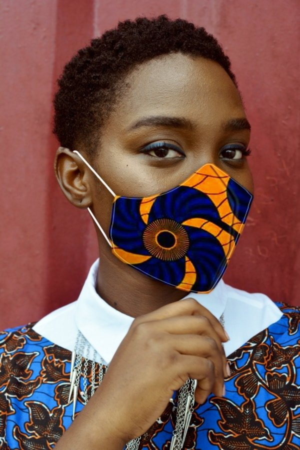 African Print Face Masks | Ankara Facemasks | GERA