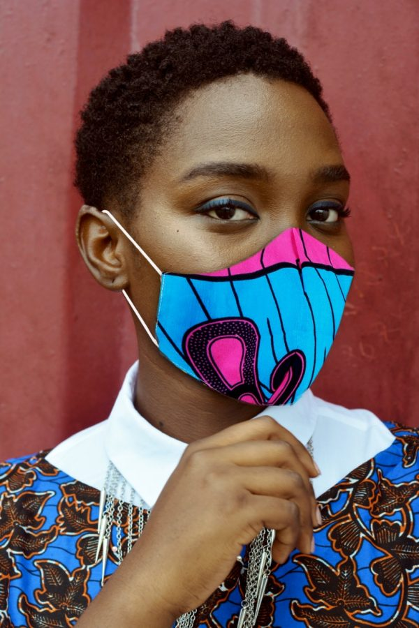African printed gifts face masks