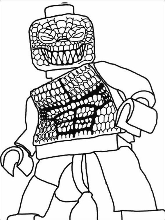 disegni da colorare lego batman