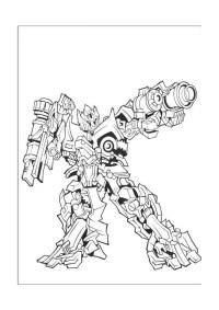 Immagini da colorare Transformers 4