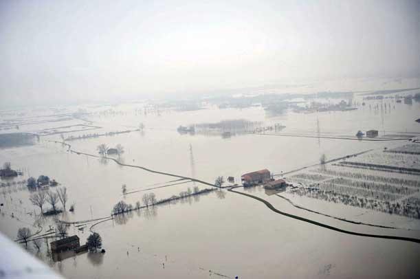 inundação da zona-Bastille