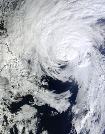 hurricane gonzalo oct 19 2014 near canada