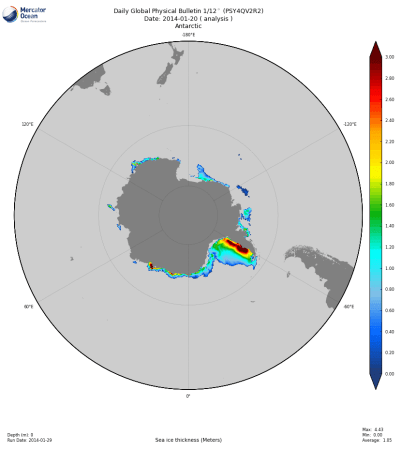 Antartico_psy4qv2r2_20140120_acc_sea_ice_thickness_0m