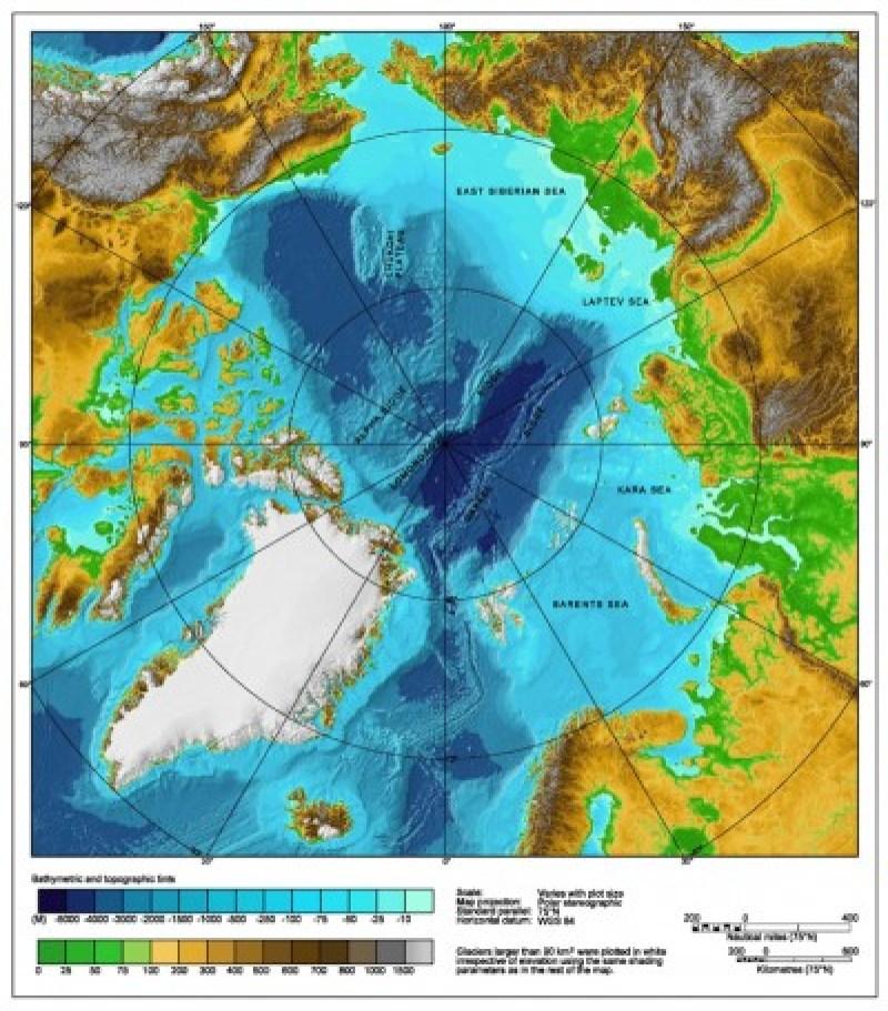 Arctic-Ocean-Map