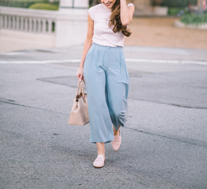 culottes, spring trends, attn to detail, megan yazdani