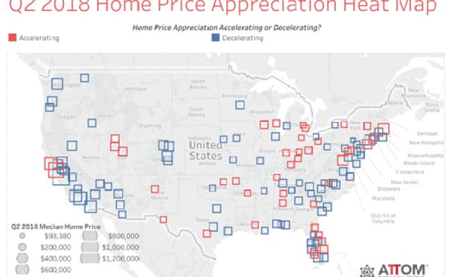 U S Median Home Price Appreciation Decelerates In Q2 2018